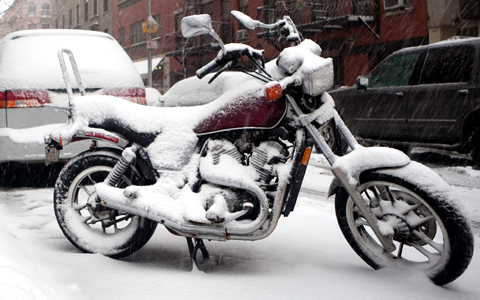 Don't leave your ride out in the cold. Store your Harley Davidson or Buell with us!